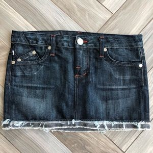 Rock & Republic VETTER Denim Jean Mini Skirt 24